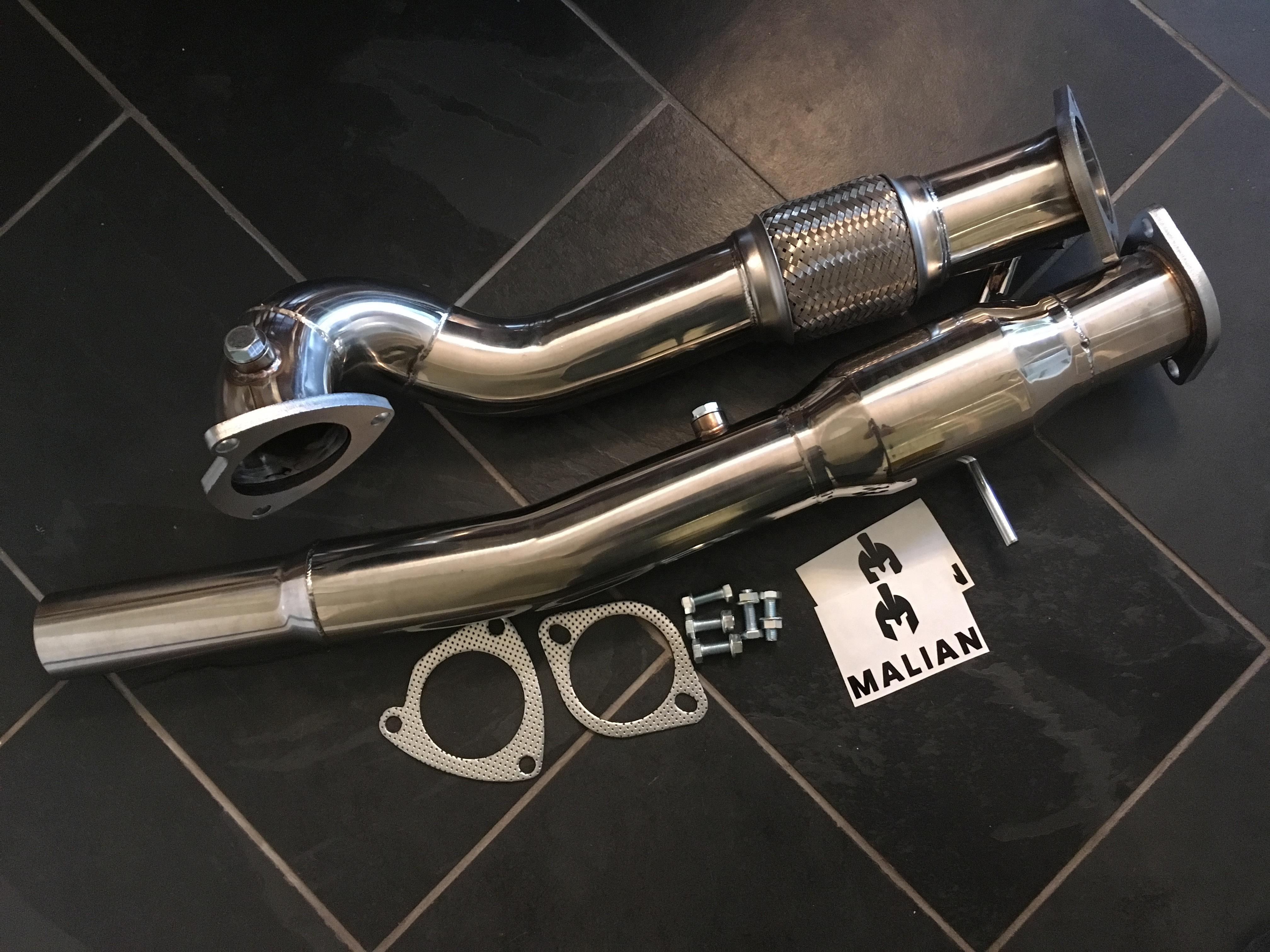 Audi Tt 1 8t Quattro Or S3 225 Performance Exhaust 3 Downpipe
